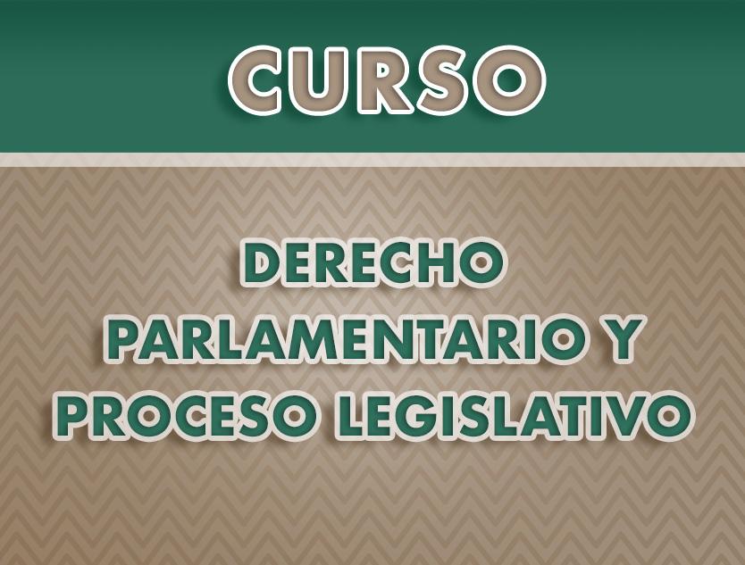 Curso: Derecho Parlamentario y Proceso Legislativo