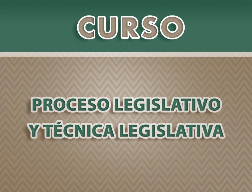 Curso: Proceso Legislativo y Técnica Legislativa (13 al 24 septiembre)